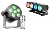 LED reflektory a bary