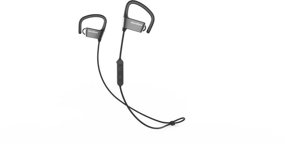 ANKER SoundCore ARC Bluetooth sportovní sluchátka (černá + šedá)