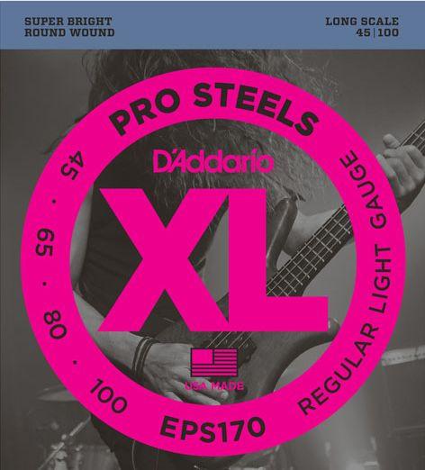 D'ADDARIO EPS170 Pro Steels Regular Light - .045 - .100