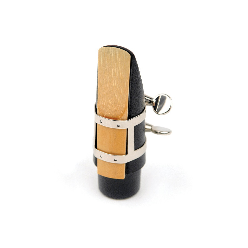 RICO RSS1LN Ligature For Soprano Saxophone - Nickel-Plated