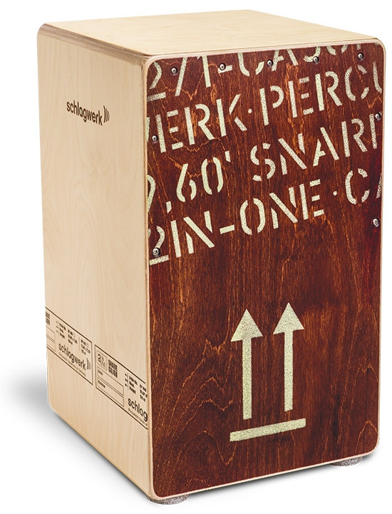 SCHLAGWERK CP404RED Cajon 2inOne Red Edition