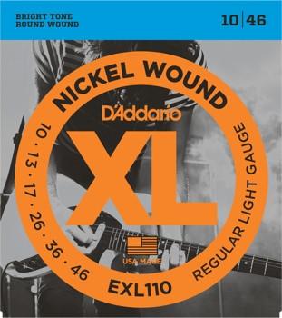 D'ADDARIO EXL110 Regular Light - .010 - .046