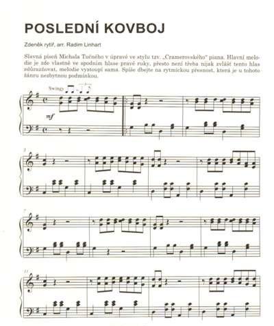PUBLIKACE Slavné melodie 4 v lehké úpravě pro klavír + CD - Jiří Ullmann