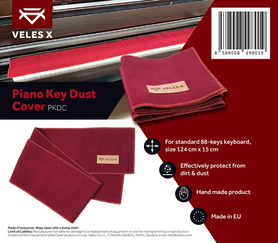 VELES-X PKDC Piano Key Dust Cover 124 x 15 cm