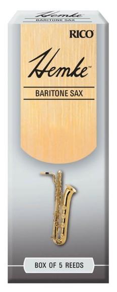 RICO RHKP5BSX300 Hemke - Bari Sax Reeds 3.0 - 5 Box
