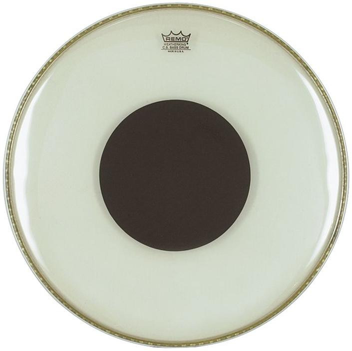 REMO Controlled Sound - Black Dot Clear 16""