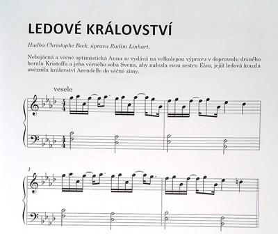 PUBLIKACE Filmový klavír aneb melodie z velkých filmů pro malé pianisty 2 - Radim Linhart