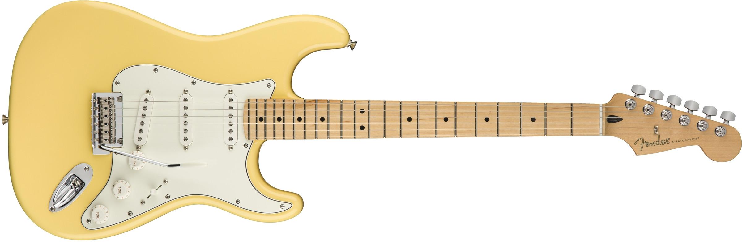 FENDER Player Stratocaster Buttercream Maple