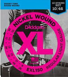 D'ADDARIO EXL150 Regular Light - .010 - .046