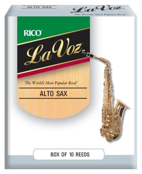 RICO RJC10SF La Voz - Alto Sax Soft - 10 Box