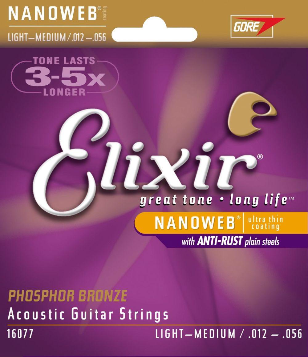 ELIXIR Acoustic Phosphor Bronze with NANOWEB .012 - .056