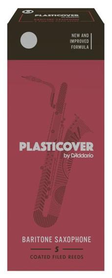 RICO RRP05BSX150 Plasticover - Baritone Saxophone Reeds 1.5 - 5 Box