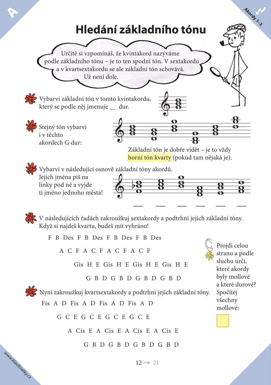 PUBLIKACE Klavihrátky - cestování s klavírem - Oplištilová Iva, Hančilová Zuzana