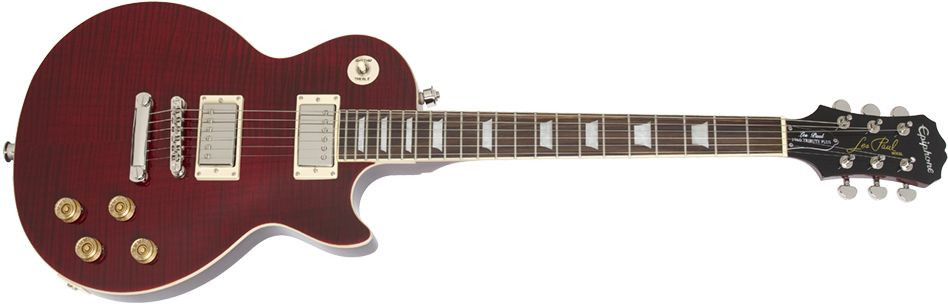 EPIPHONE Les Paul Tribute Plus, Rosewood Fingerboard - Black Cherry
