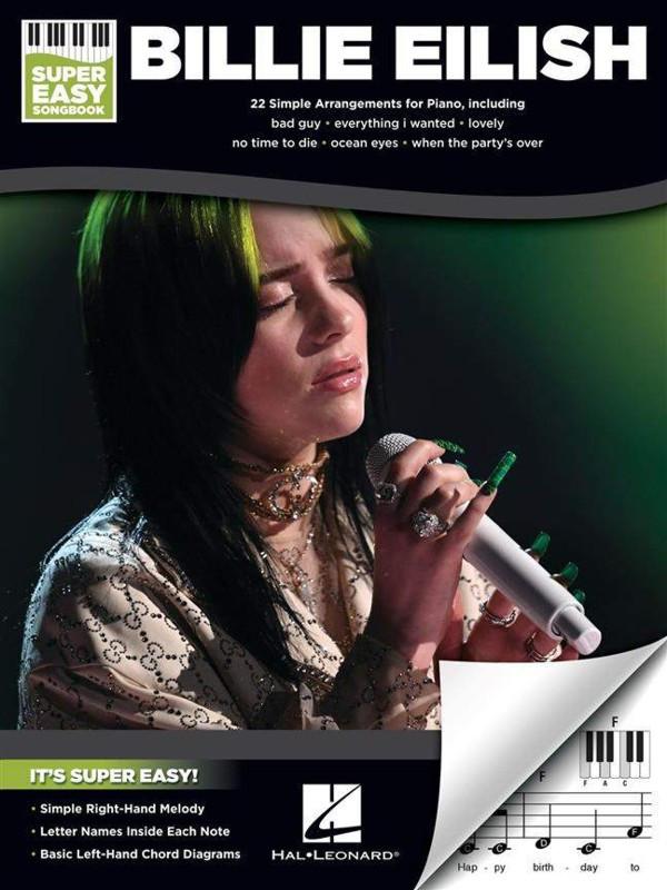 PUBLIKACE Billie Eilish - Super Easy Songbook