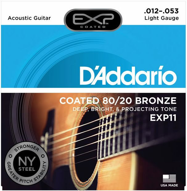 D'ADDARIO EXP11 80/20 Bronze - Light .012 - .053