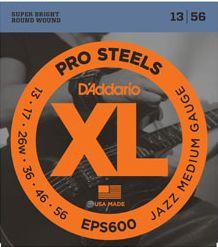 D'ADDARIO EPS600 Pro Steels Jazz Medium - .013 - .056
