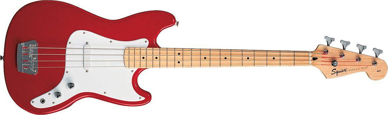 FENDER SQUIER Bronco Bass Torino Red Maple