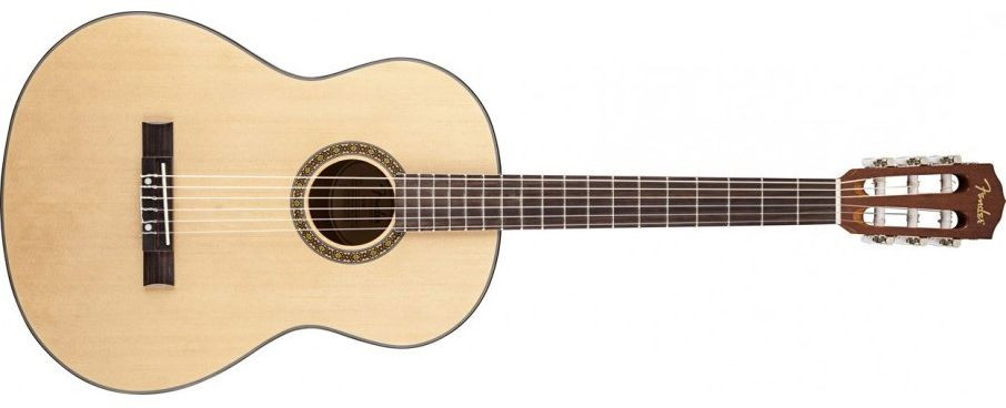 FENDER FC-1 Classical, Rosewood Fingerboard - Natural