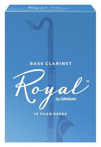 RICO REB1015 Royal - Bass Clarinet Reeds 1.5 - 10 Box
