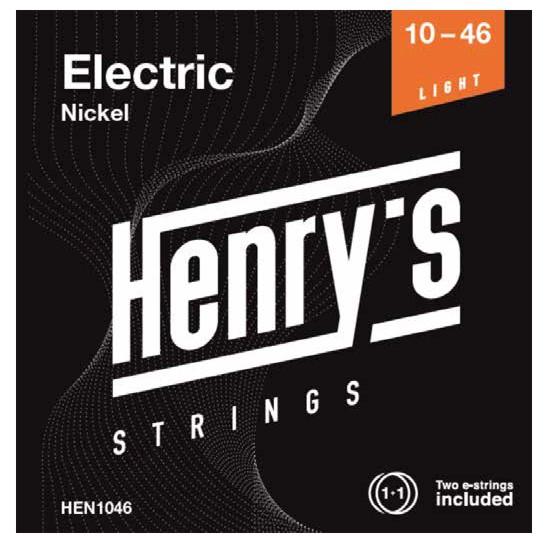 "HENRY'S STRINGS HEN1046 Electric Nickel - 010"" - 046"""