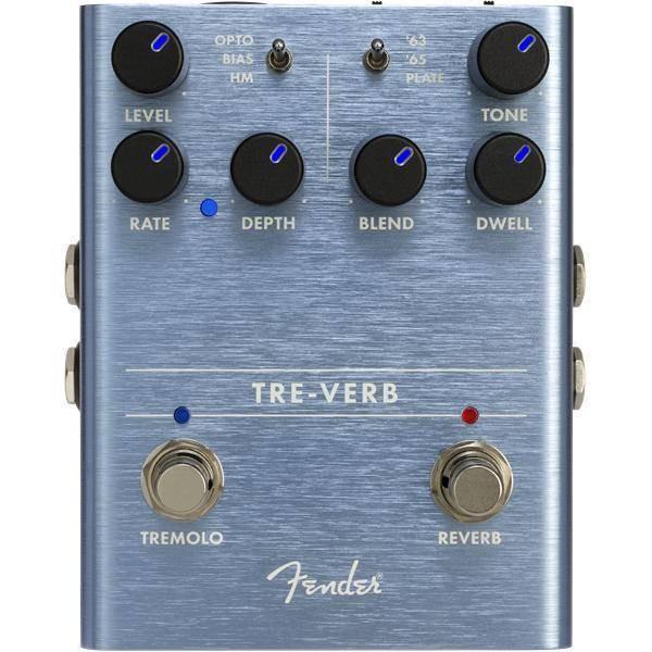 FENDER Tre-Verb Digital Reverb / Tremolo