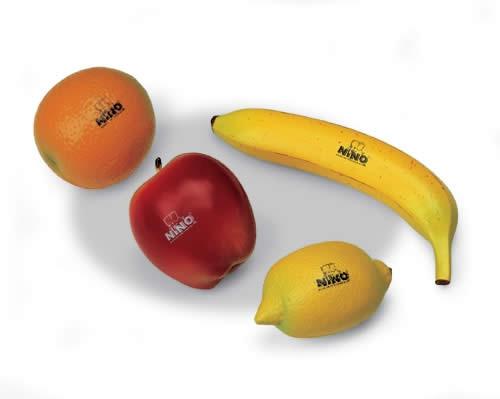 NINO PERCUSSION NINOSET100 Shaker Fruit Set