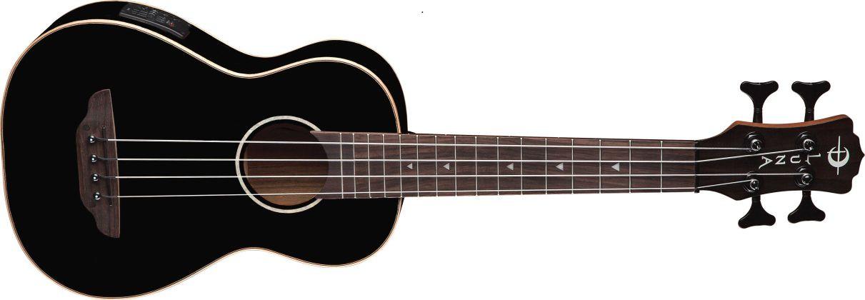 LUNA GUITARS Ukulele Bass Black