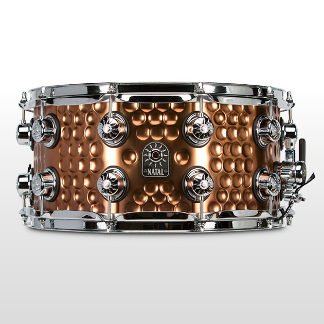 NATAL SD-HHC-OB47 Hand Hammered Steel Snare