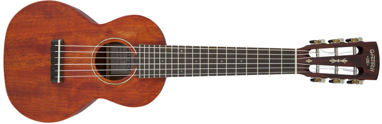GRETSCH G9126 Guitar-Ukulele Honey Mahogany Stain