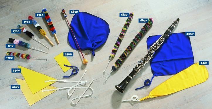 HELIN 4650 Vytěrák na klarinet