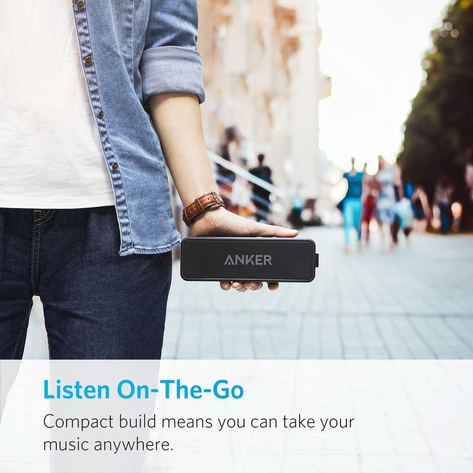 ANKER SoundCore 2 Bluetooth stereo reproduktor, černá