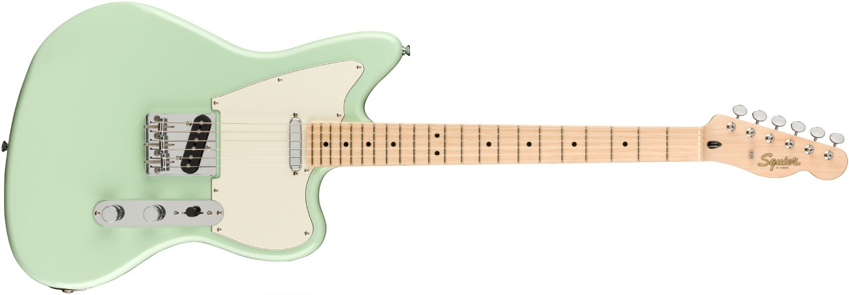 FENDER SQUIER Paranormal Offset Telecaster Surf Green Maple