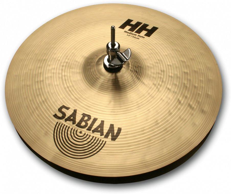 "SABIAN HH 14"" Medium Hi-hat Brilliant"