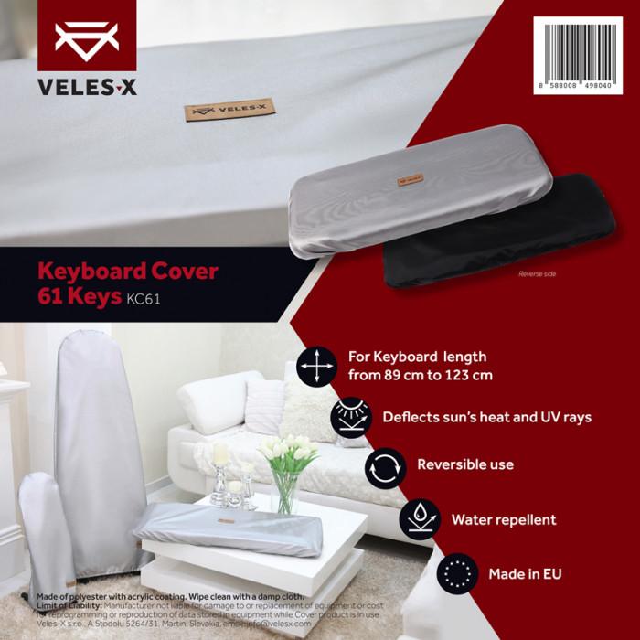 VELES-X KC61 Keyboard Cover 61 Keys 89 - 123 cm