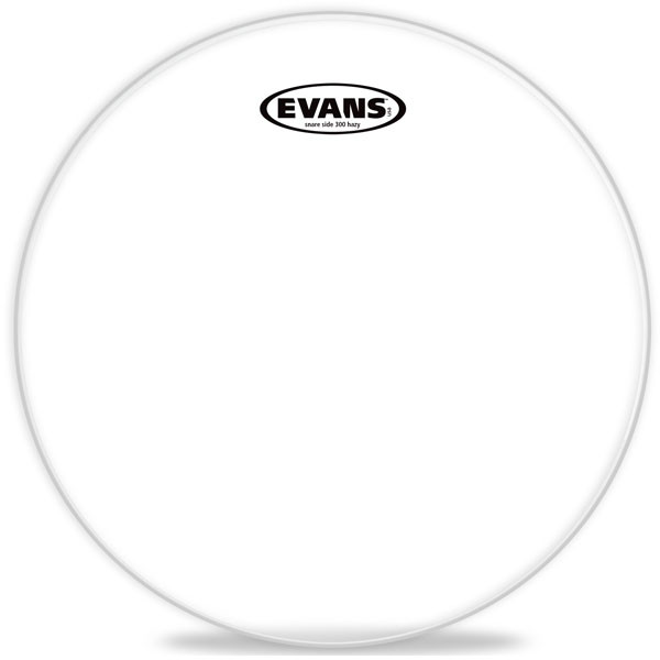 "EVANS 300 10"" Clear"
