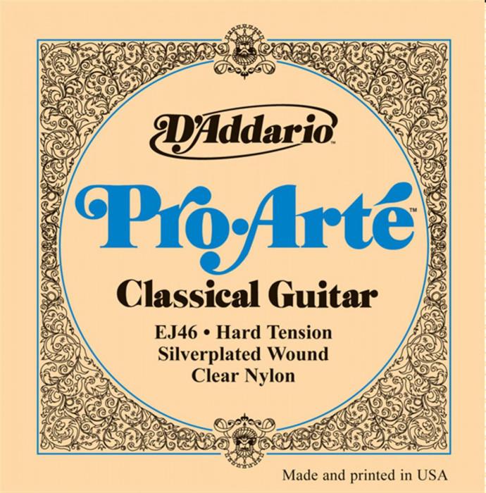D'ADDARIO EJ46 Classic Nylon Pro Arté Heavy - .0285 - .044