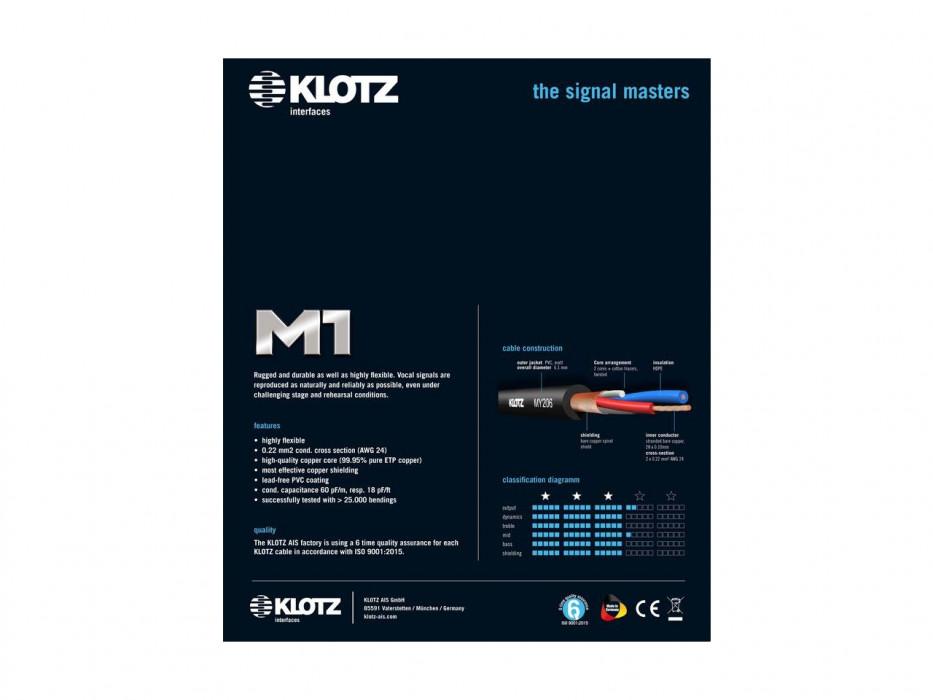 KLOTZ M1FM1N0300