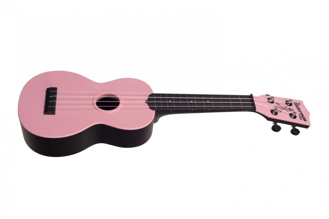 KALA Waterman Soprano Ukulele Soft Pink Matte