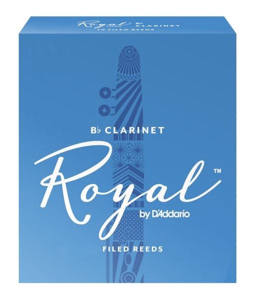 RICO RCB1035 Royal - Bb Clarinet Reeds 3.5 - 10 Box