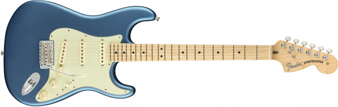FENDER American Performer Stratocaster Satin Lake Placid Blue Maple