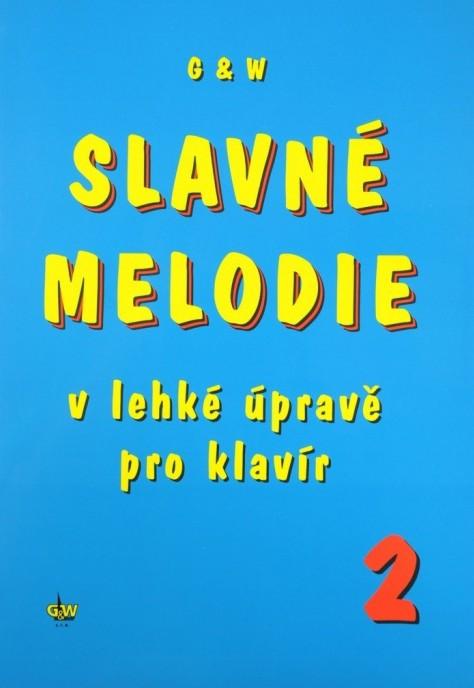 PUBLIKACE Slavné melodie 2 v lehké úpravě pro klavír + CD - Jiří Ullmann