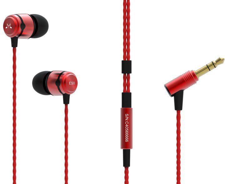 SOUNDMAGIC E50 Black Red