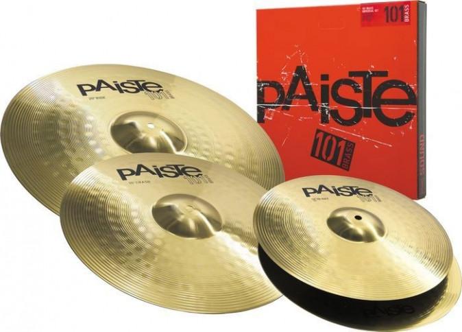 PAISTE 101 Brass Universal Set B STOCK