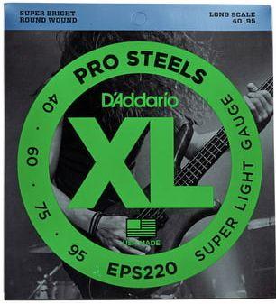 D'ADDARIO EPS220 Pro Steels Super Light - .040 - .095