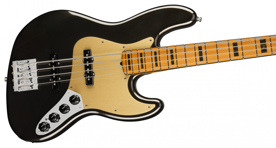 FENDER American Ultra Jazz Bass Texas Tea Maple