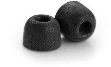 COMPLY Isolation T-200 Black Large 3 Pair