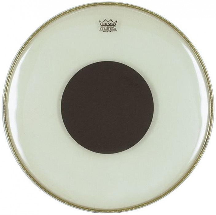 """REMO Controlled Sound - Black Dot Clear 14"""""""