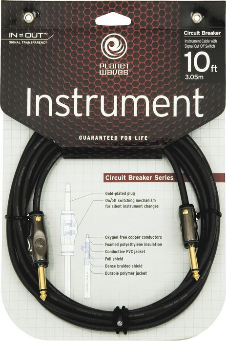 PLANET WAVES DA PW-AGRA-10 Circuit Breaker