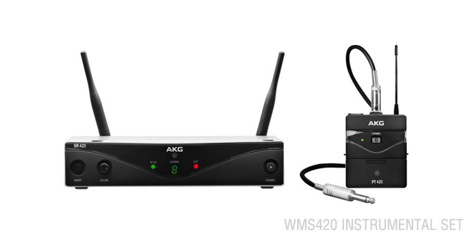 AKG WMS420 Wireless Instrumental Set A (530.025-559.000 MHz)